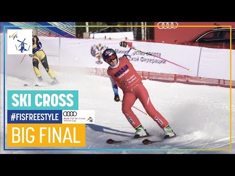 Smith Repeats Victory In Russia  | Women's Ski Cross | Sunny Valley | FIS Freestyle Skiing