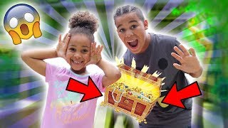 We Found Treasure in a Mansion!!