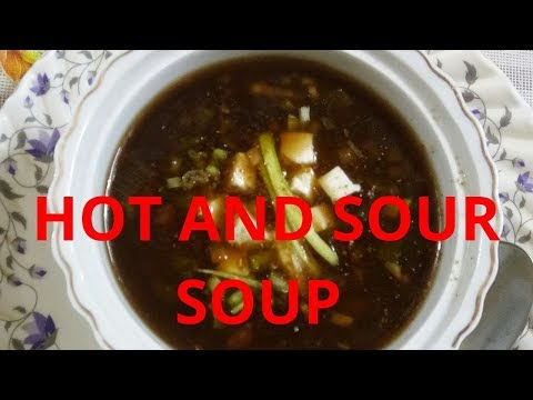 Hot and Sour Vegetable Soup | Indo-Chinese | The Tasty Bites
