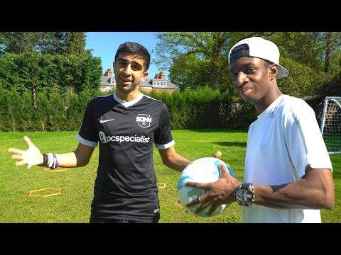 SIDEMEN CHARITY FOOTBALL MATCH PREPARATION!
