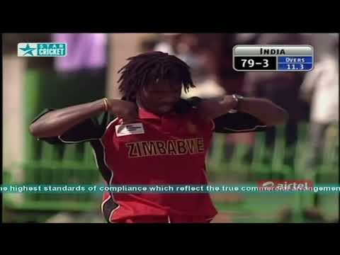 ** Rare ** India Vs Zimbabwe ICC Champions Trophy 2002 HQ Extended Highlights