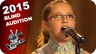 Charli XCX - Boom Clap (Eleni)   The Voice Kids 2015   Blind Auditions   SAT.1