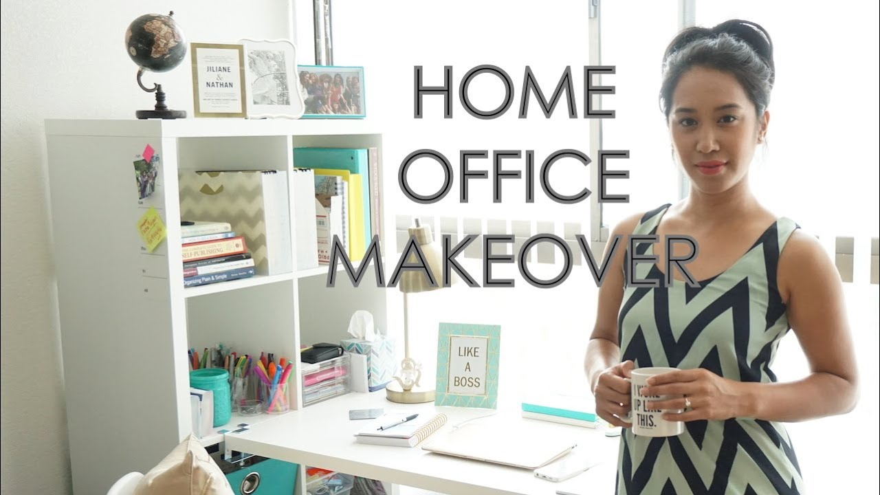 Superbe HOME OFFICE MAKEOVER! IKEA, HOMEGOODS, TJMAXX, PINTEREST   YouTube