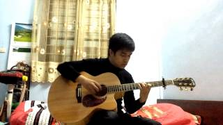 (Titanic OST) My Heart Will Go On - Chu Anh Vu - Fingerstyle Guitar Cover