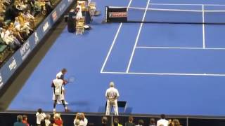 Jim Courier vs Jimmy Connors, Champions Series Sunrise 2011.