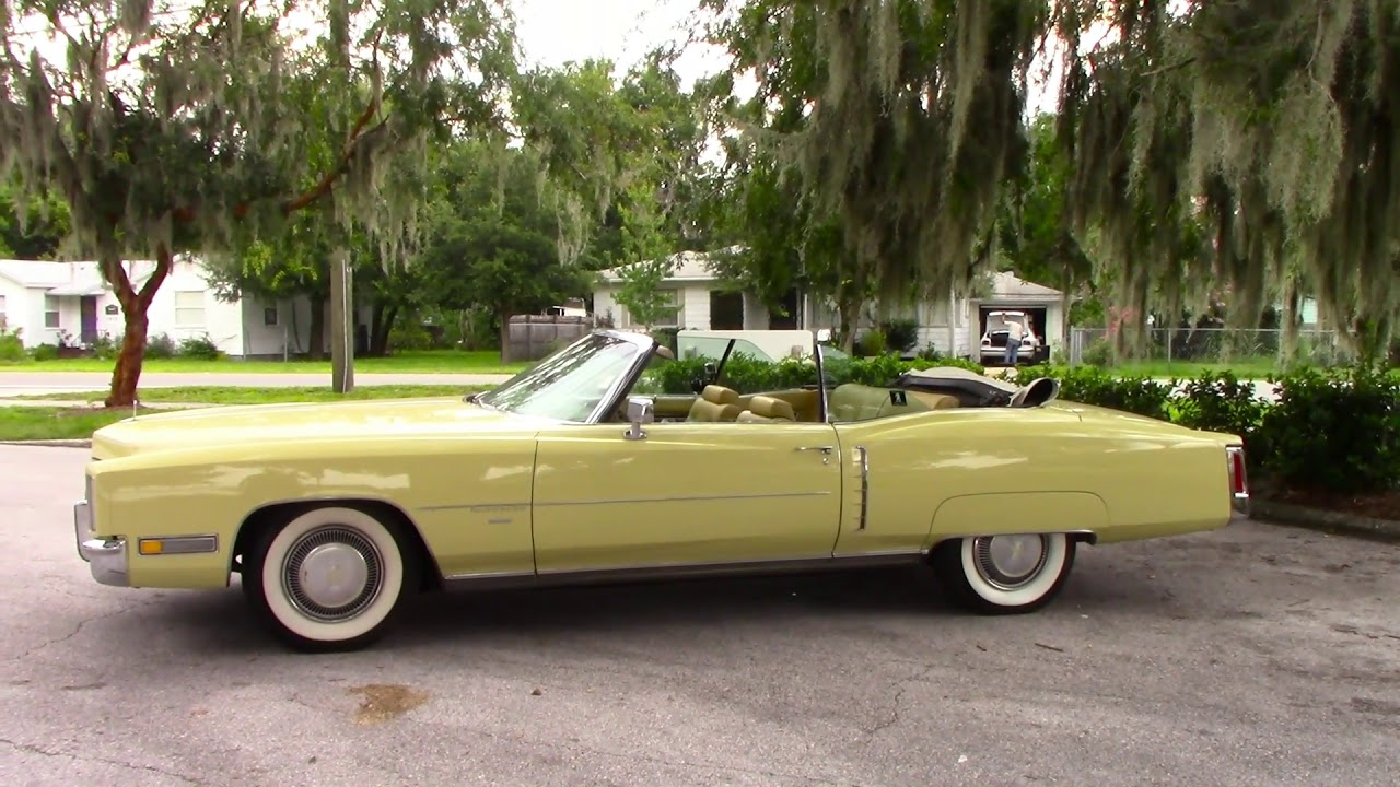For Sale 1971 Cadillac Eldorado Convertible