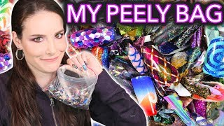 Download What's in my Peely Bag? (Re-creating 5 of my nail peelies) / 2017 year-in-review Mp3 and Videos