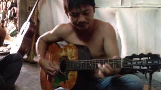 cô hàng xóm  guitar minh