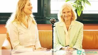 Online-AU bei Regelschmerzen: Dr. med. Eva-Maria Ansay im Interview mit Viviane Schlabritz