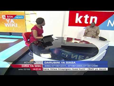 Dira ya Wiki(Kinyanganyiro): Darubini ya Siasa; Charles Owino na Haron Dubi, 6th May 2016