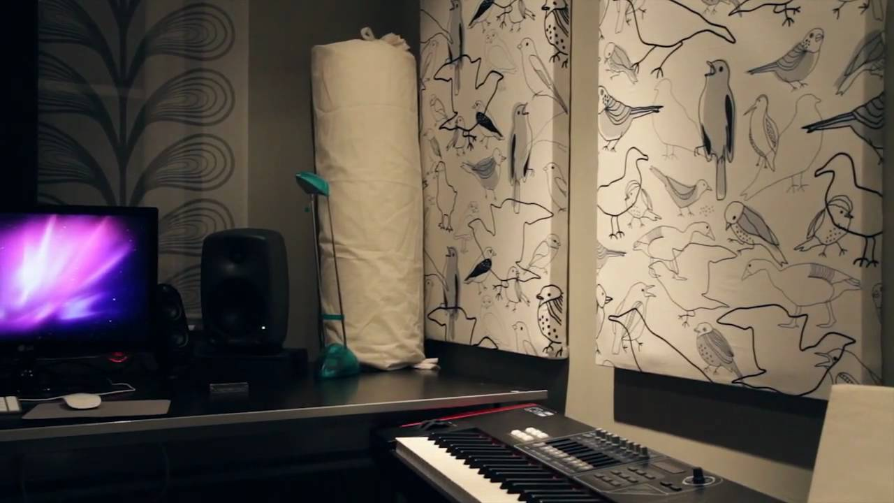 How to make rockwool acoustic panels - YouTube