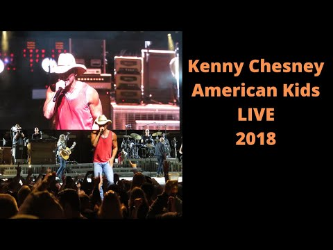 Kenny Chesney   American Kids LIVE 6/7/18 St. Joseph's Health Amphitheater at Lakeview