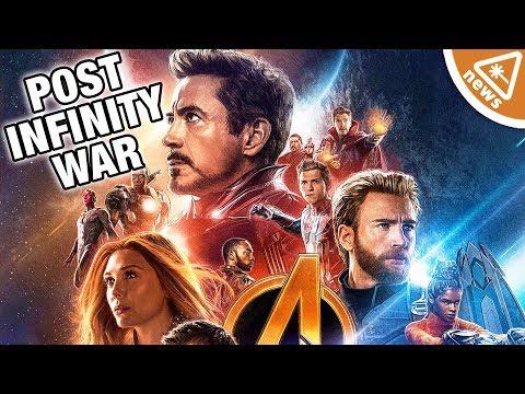 How Infinity War Sets Up the New Future of the MCU! (Nerdist News w/ Jessica Chobot)