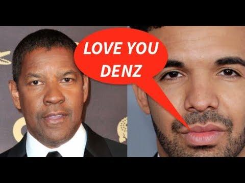 Denzel Washington SPOOKED OUT That DRAKE...