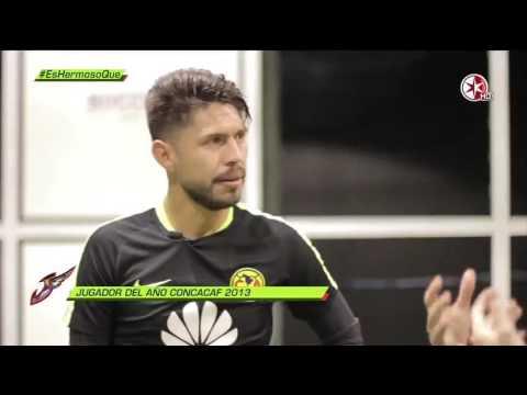 Entrevista Oribe Peralta del América en la maquina Soccer RTC by Gtex