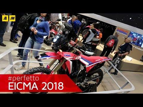 Honda CRF  L Rally - EICMA  [ENGLISH SUB]