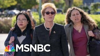 Ex-Ukraine Ambassador Gives Testimony, Trump Pressured State Dept To Oust Her | Hardball | MSNBC