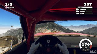DiRT 5 - Fiat Abarth 124 Rally - Cockpit View Gameplay (PC UHD) [4K60FPS]