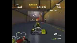 Furious Karting Gameplay For The Original Xbox By Atari