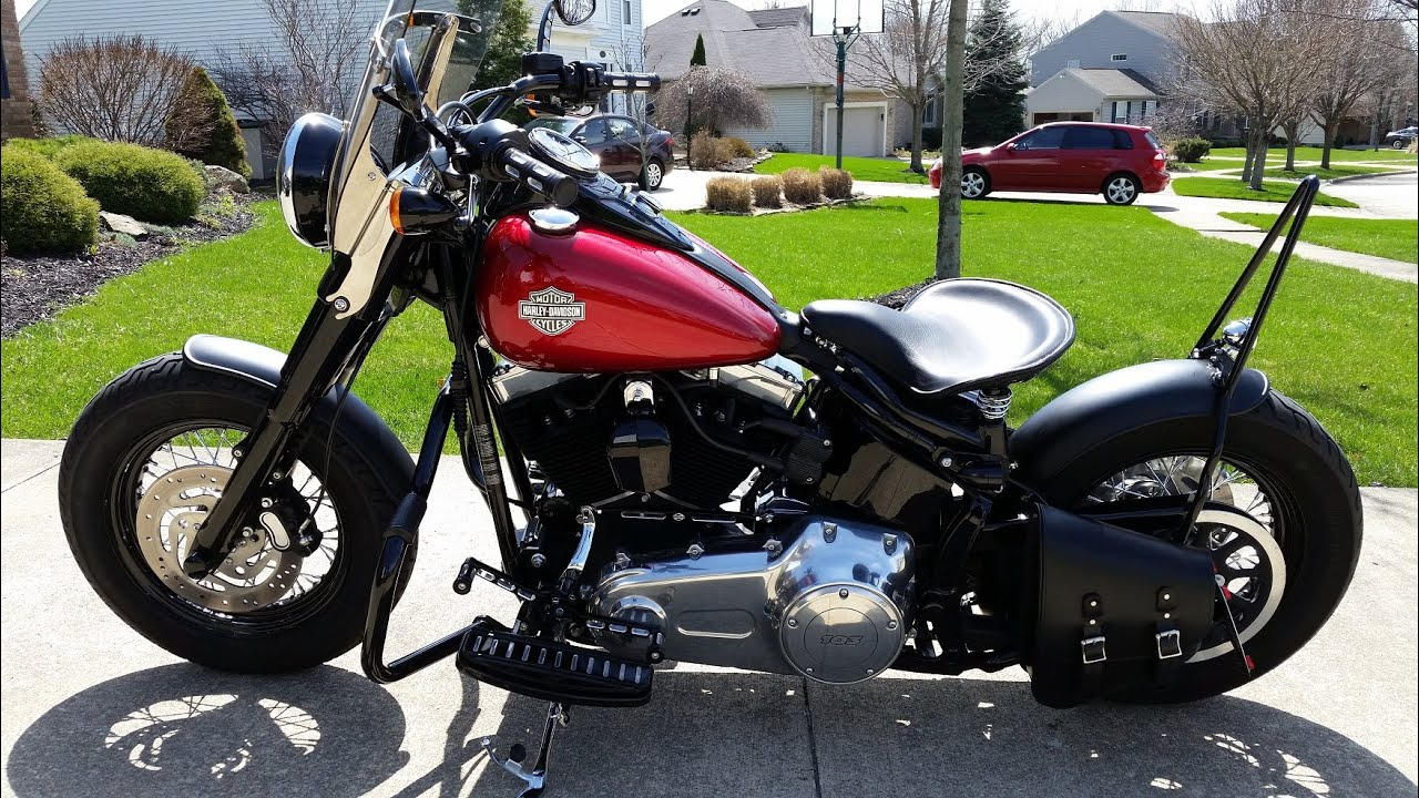 Harley Davidson Softail Seat Kit