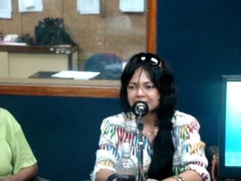 A atriz Adele Fatima na Radio Nacional