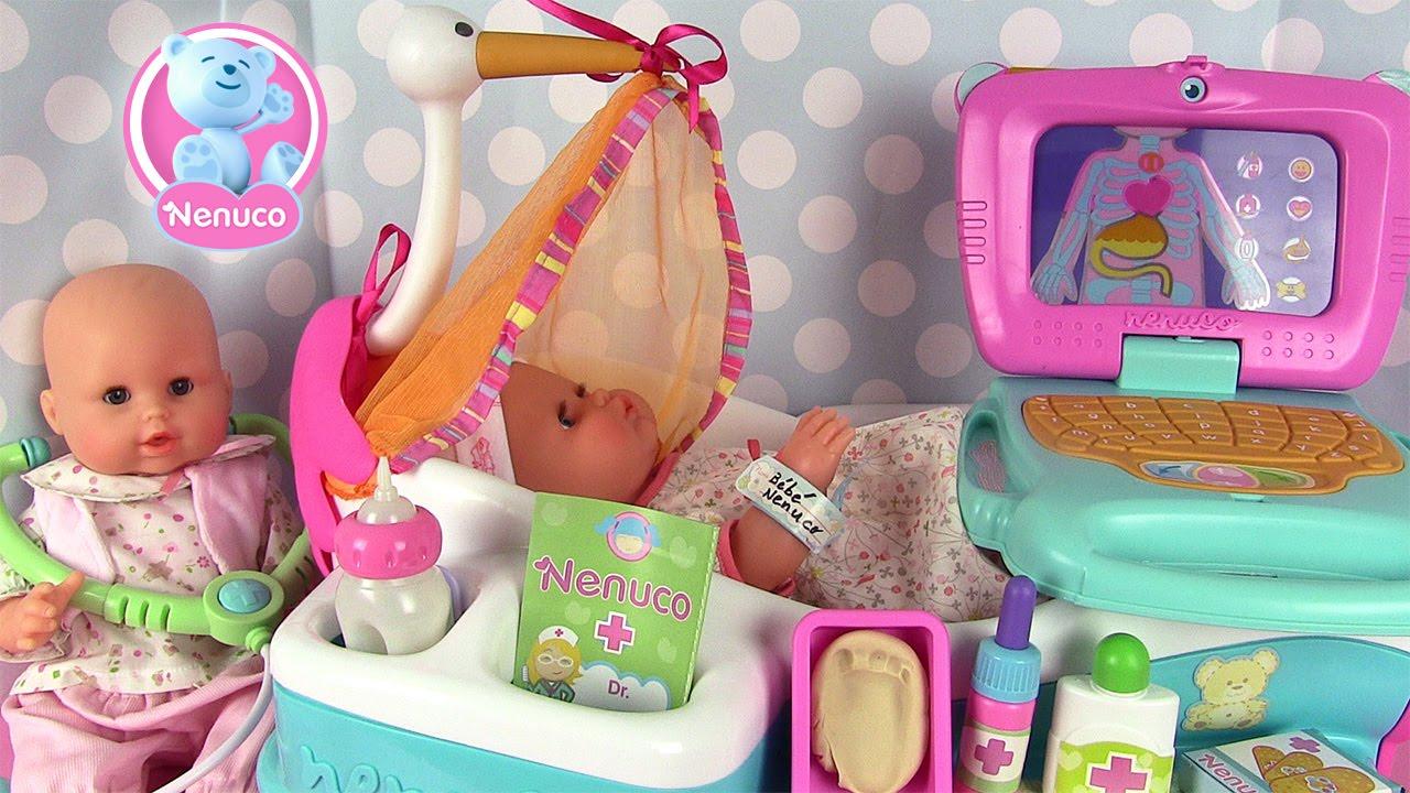 nenuco centre de maternit poupon nouveau n avec emma de corolle youtube. Black Bedroom Furniture Sets. Home Design Ideas