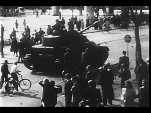 Denmark Fights for Freedom Against Nazi Occupation 1944 - Restored