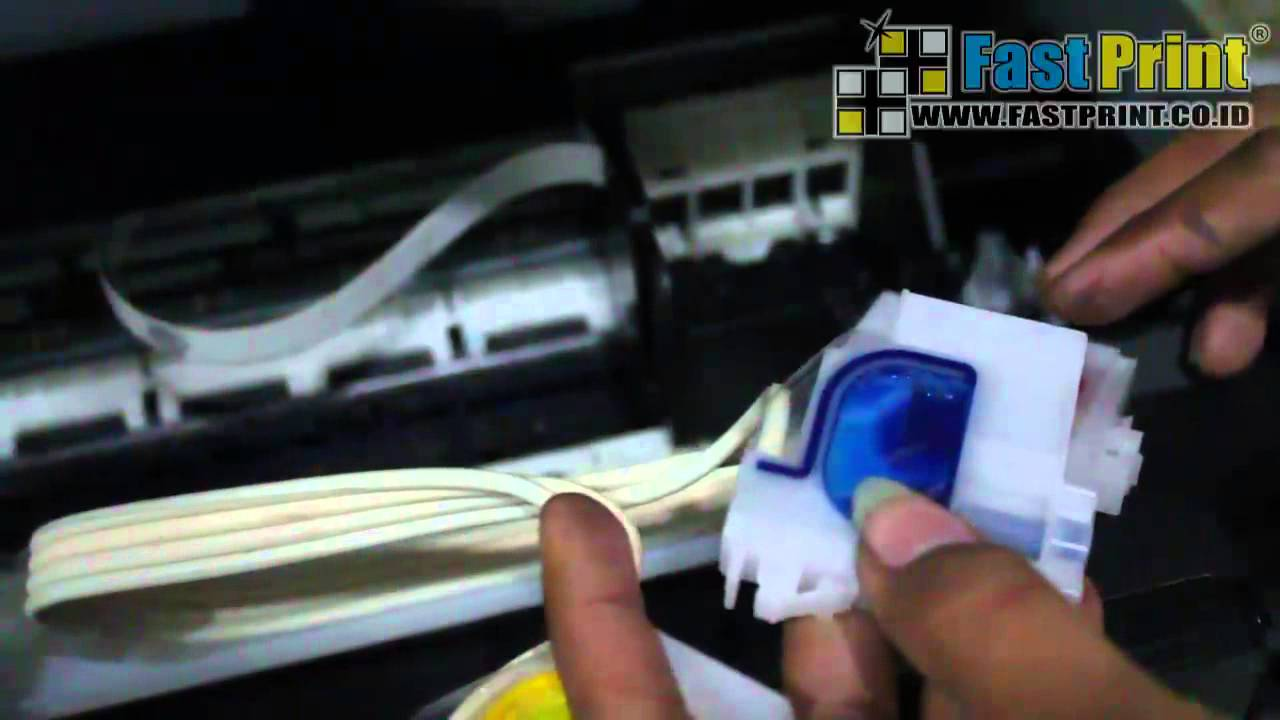Video Tutorial Cara Sedot Cartridge Dan Membersihkan Head Printer
