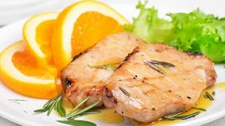 Свинина с апельсиновым соусом