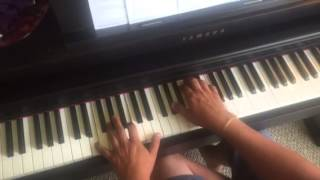 Yellow ledbetter by pearl jam, piano cover version 2