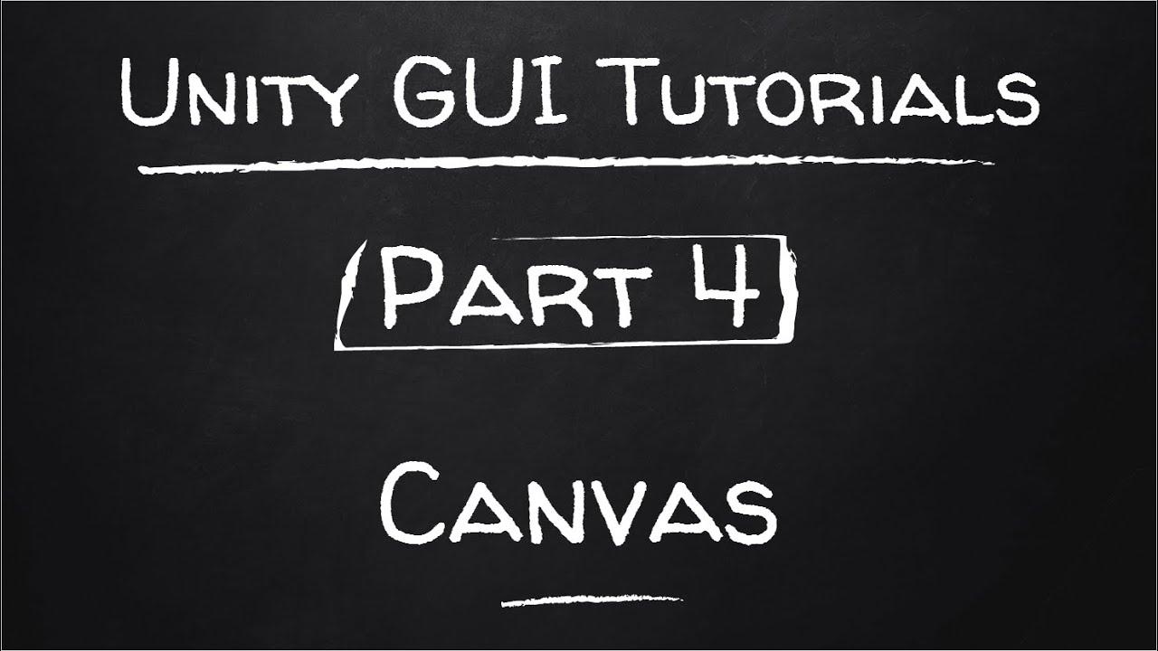 Part 4 - Canvas Pixel Perfect Mode and Canvas Scaler   Unity GUI Tutorials