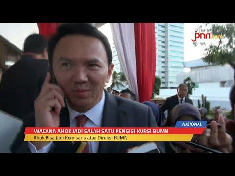 Ahok Bakal Jadi Petinggi BUMN, Jokowi: Kita Tahu Kinerjanya
