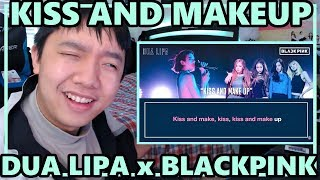 Dua Lipa ft. BLACKPINK - Kiss and Makeup Audio Reaction [A GROOOOVE!]