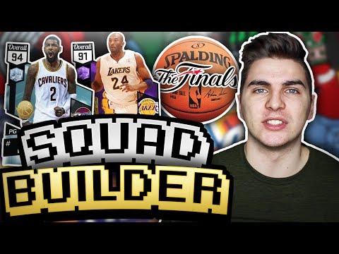 ONE PLAYER FROM THE LAST 13 NBA CHAMPIONS! NBA 2K17 SQUAD BUILDER