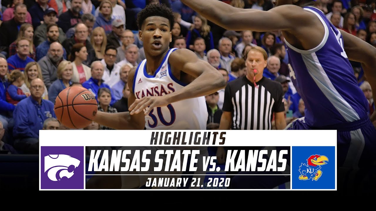 Kansas basketball fight ends win over Kansas State