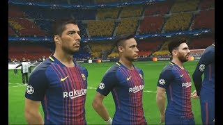 [PC] FC Barcelone vs Juventus - Gameplay Nouveaux Maillots 2018 PES 2017