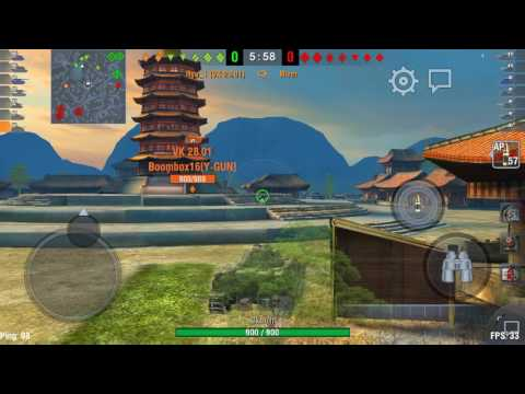 World of Tanks Blitz 9 Ryu&Boom part 2