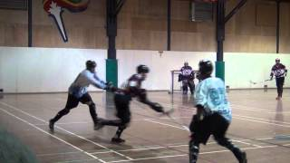 Ball Hockey - How To Kill Penalties (Brenden Ham) 5-On-4 Penalty Kill - Penalty Killing Skills
