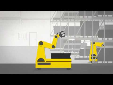 film animation industrie robotique