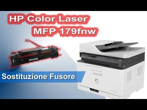 HP Color Laser MFP 179fnw 4ZB97A sostituzione fusore