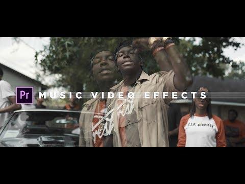 Music Video Effects Tutorial | Adobe Premiere Pro (NO PLUGINS)