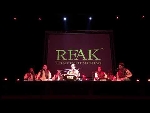 Rahet Fateh Ali Khan - Mere Rashke Qamar - Full Qawali - Live In Leicester UK