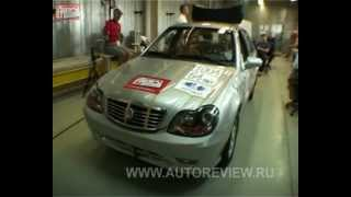 Краш тест Китайских авто