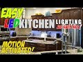 Easy Smarthome LED Kitchen Counter and Cabinet Lights. Controlled by ALEXA