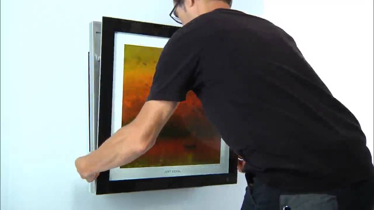 Lg Art Cool Gallery Airconditioner Picture Change Youtube