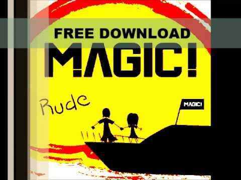 MAGIC! - Rude (Free Download Audio Here)