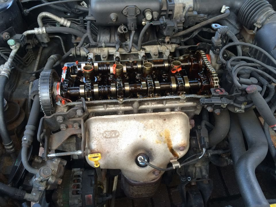2002 Hyundai Coupe 1 6 Timing Belt Amp Chain Replacement