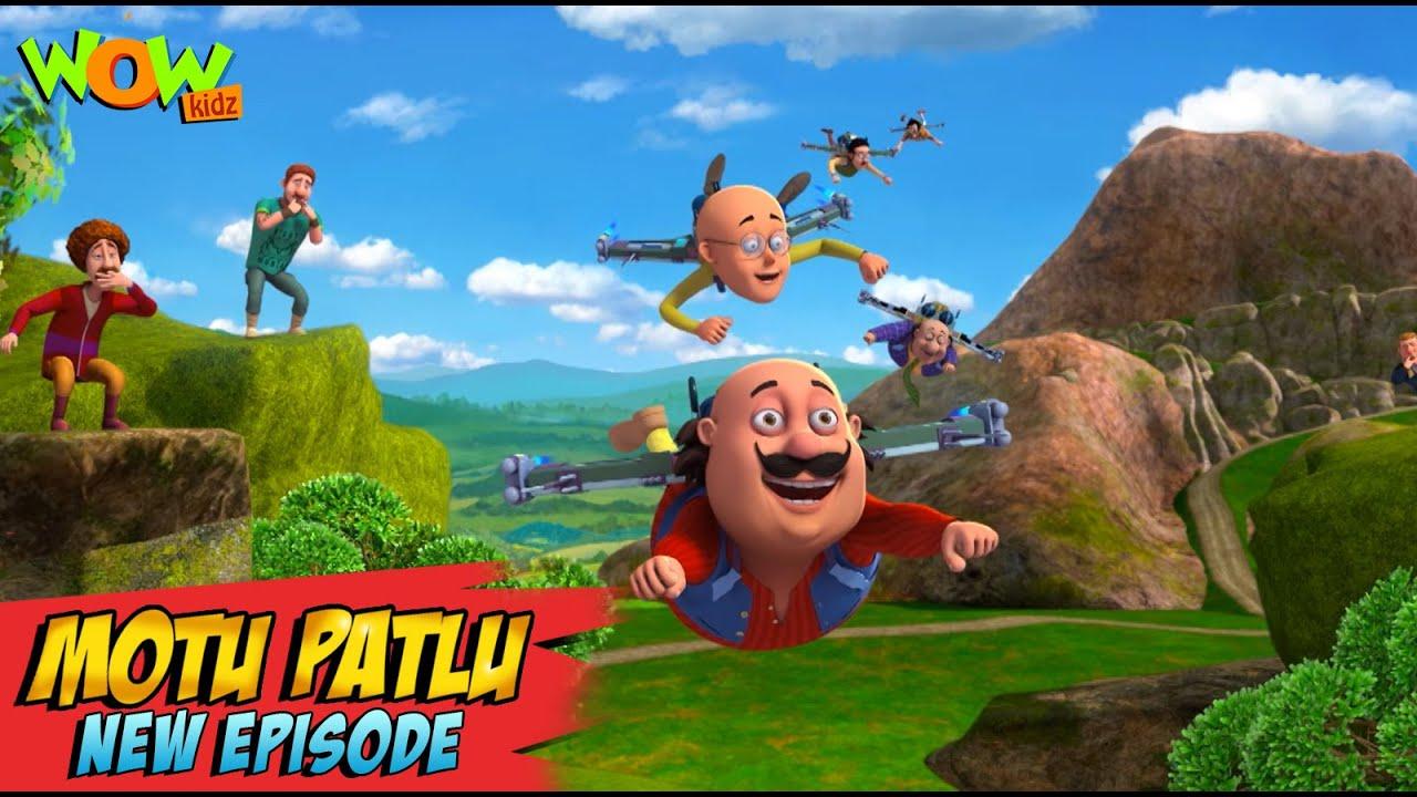 Download Motu Patlu New Episodes 2021 | Whistling Village | Funny Stories | Wow Kidz