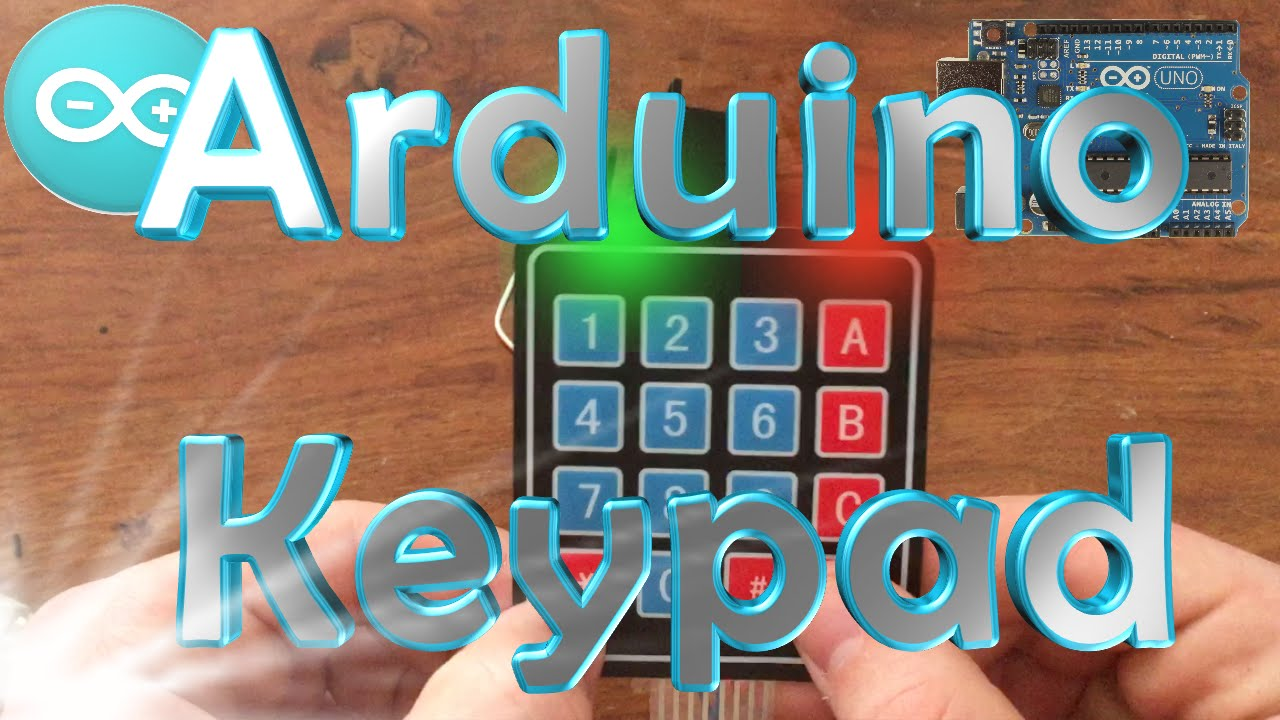 How To Make A Keypad Lock With An Arduino Youtube Combination Circuit