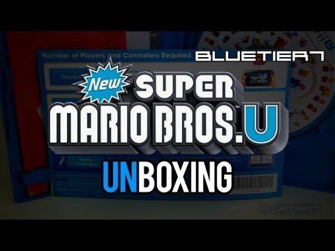 New Super Mario Bros. U Unboxing | UK / Europe Edition in Australia from OzGameShop